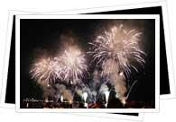 fireworks in Argentina
